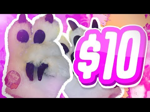 10 DOLLAR FURSUIT PAWS