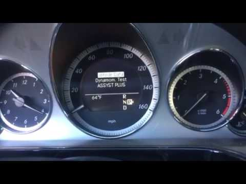How to reset service reminder for 2011 Mercedes e350