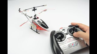 rc helicopter unboxing, flight test & unloading