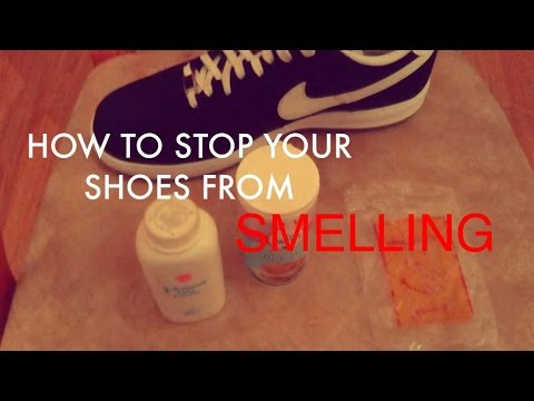 HOW TO | Stop Your Shoes From Smelling
