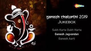 Non-Stop Shri Ganesh Aartis   Ganesh Ustav Special   गणेश उत्सव 2019