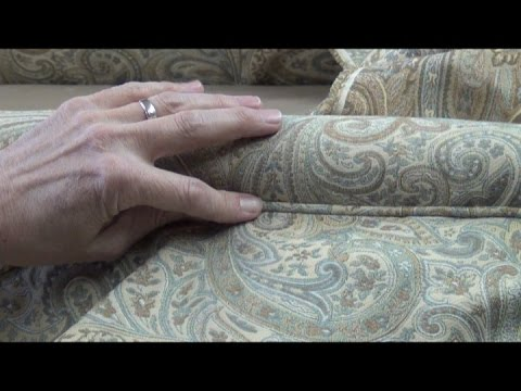 Camel Back Sofa Upholstery - Cushion Deck Upholstery
