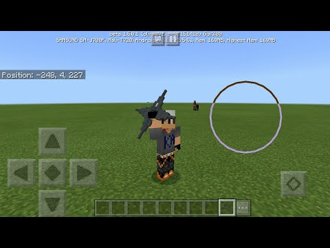 MCPE 3D WEAPONS Tutorial | Minecraft Pocket Edition Addons