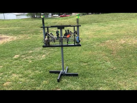 Bow and Arrow Shooting Stand