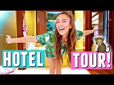 LUXURY COSTA RICA HOTEL TOUR!🇨🇷🌳🐒 Beach view & Trippin With Tarte!