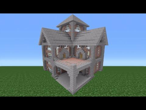 Minecraft Tutorial: Brick House - 3