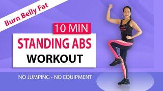 10 Minuten Buikvet Verbranden Workout   Afvallen   Thuis training   Platte Buik Slanke Taille