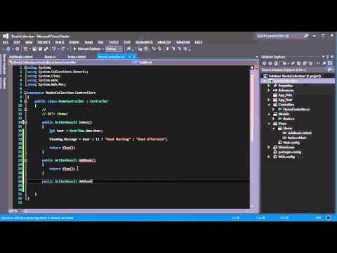 Part 5: Creating the Data Entry Form ASP.NET MVC 4