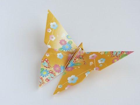 Origami Yoshizawa Butterfly