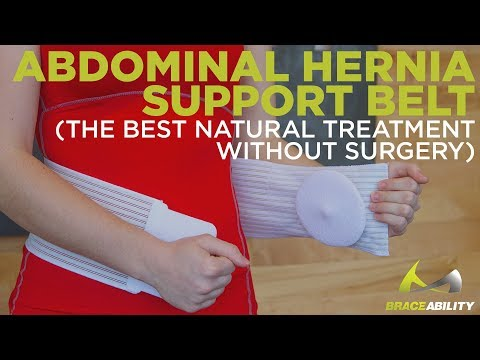 Abdominal Hernia Support Belt (The Best Natural Treatment Without Surgery)