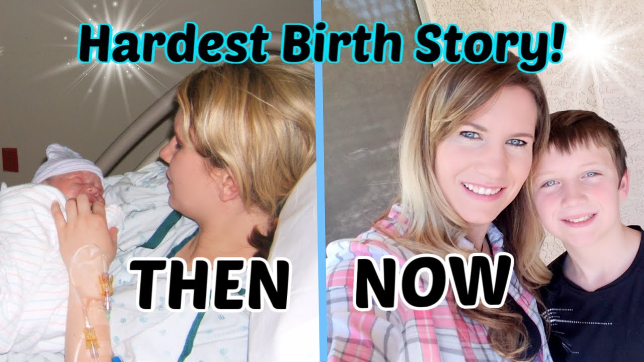 HARDEST BIRTH STORY! | Then and Now Max