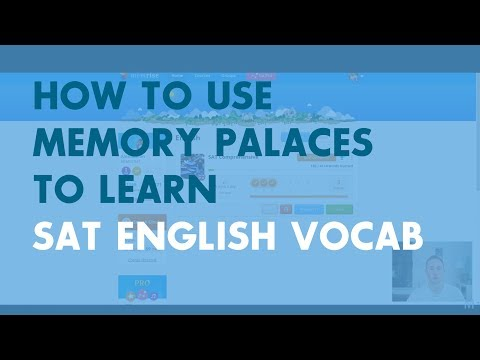 How to Use Memory Palaces to Learn SAT English Vocabulary