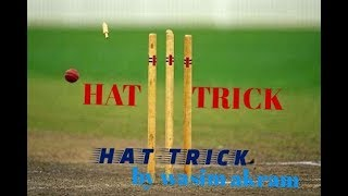 BEST HAT-TRICK BY WASIM AKRAM......ALL TIME HELPER