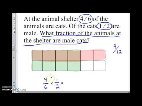 multiplying fractions word problems (5.NF.B.6)