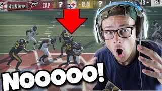 NOOOOO WE GAVE HIM A CHANCE!! THIS CANT BE HAPPENING!! Madden 18 Road To Elite