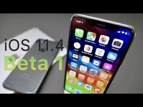 iOS 11.4 Beta 1 - What's New?