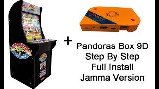 DIY Retro Arcade Arcade1up LED Push Button Upgrade Kit Install