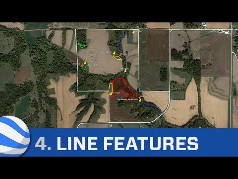 Google Earth Tutorial Part 4: Drawing Line Features