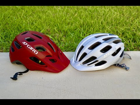 Giro Register and Giro Fixture helmet unboxing