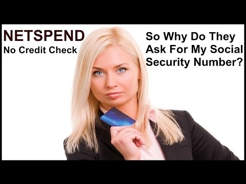 NETSPEND SOCIAL SECURITY NUMBER plus NetSpend Free $20 Dollars