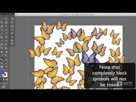 Illustrator CS6 104: Symbols and Patterns: Create A Background - 11. Symbol Stainer