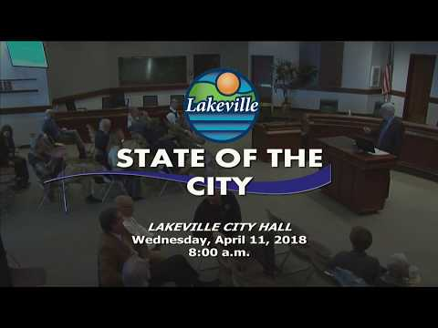Lakeville State of the City 2018 - April 2018