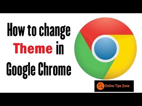 How to Add or Delete theme in Google Chrome