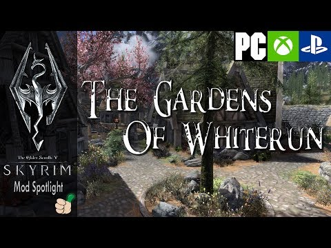 Skyrim Mod Spotlight | The Gardens of Whiterun | Finally it is finished!
