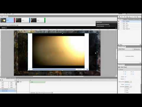 Using Flash Catalyst to Design a Film Trailer Website: Effects, Audio, and Video