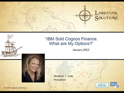 IBM Sold Cognos Finance, What Are My Options?