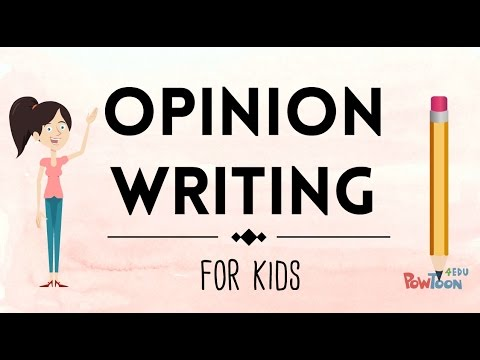 Opinion Writing for Kids   Episode 1   What Is It?