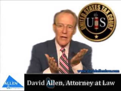 David Allen - Taxes and Social Security Disability Payments