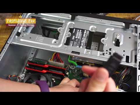 RAM / SSD upgrade on HP Pavilion Power Desktop 580-023w
