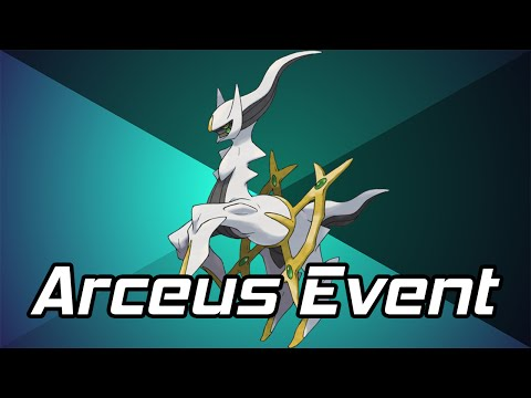 Pokémon ORAS/XY : Mythical Arceus Mystery Gift Event