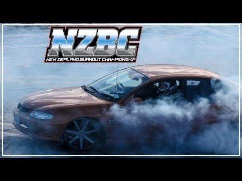 Holden Burnout Compilation | NZBC | 19th August 2017