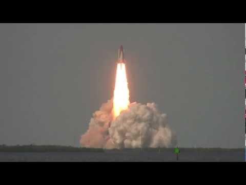 [HD1080] STS-122 Shuttle Atlantis Launch, Cape Canaveral, Florida