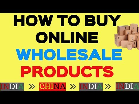 How to Buy Wholesale Product online In India | Shop from International Sites [Hindi]