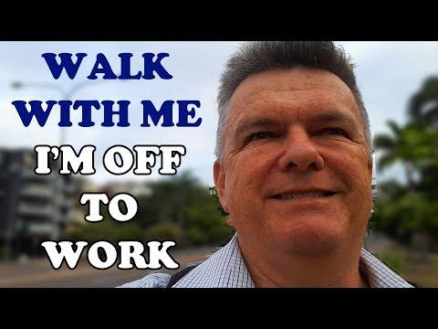 Walk With Me. I'M WALKING TO WORK. #IAmACreator