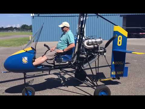 Blue Angel Navy Gyroplane