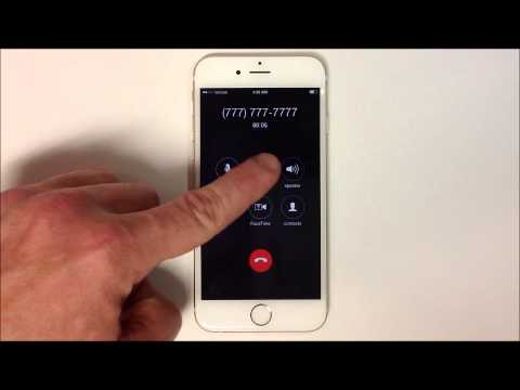 How to Make a Phone Call - iPhone 6