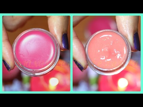 Get Baby Soft and Pink Lips Naturally at Home | Make Your Own 2 Lip Balm for Soft Pink Lips