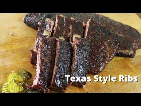 Texas Style Ribs | Recipe for Smoking Ribs from Malcom Reed