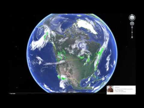 Fly Around the World with Google Earth.