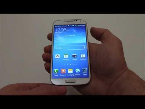 How To Take A Screenshot On A Samsung Galaxy S4 Smartphone