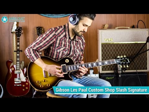 Gibson Slash Les Paul Custom Shop review / Guitar Cover