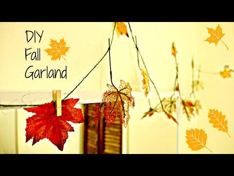 EASY FALL DIY: Fall Garland