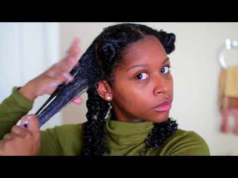 ❄️💓My Favorite Wash N Go Routine | Tutorial 2018