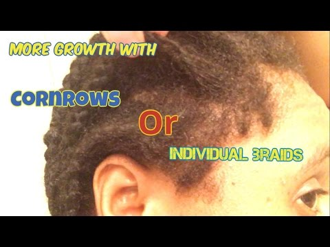 10 week  Braid Protective style | Growth  Results