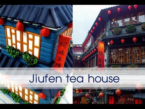 :: sugarcraft :: taiwan jiufen tea house 대만 지우펀 찻집 만들기