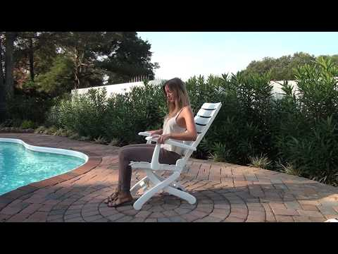 Kettler Tiffany Foldable Patio Chair | Dazadi.com